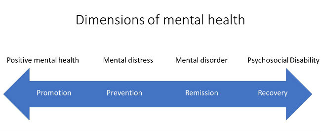 Dimensions of Mental Health